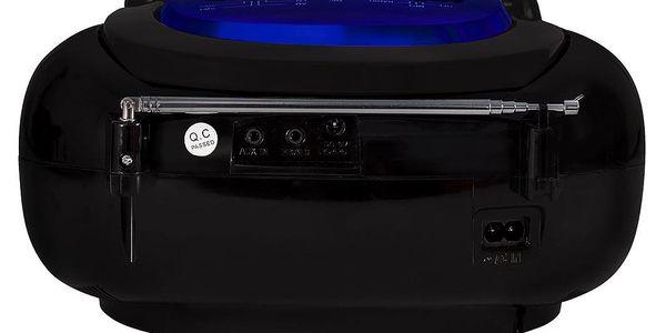 Radiopřijímač Orava RSU-04 černý/modrý2