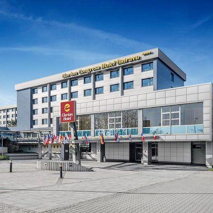 Ostrava: bohatý noční život & moderní 4* Clarion Hotel - dlouhá platnost poukazu