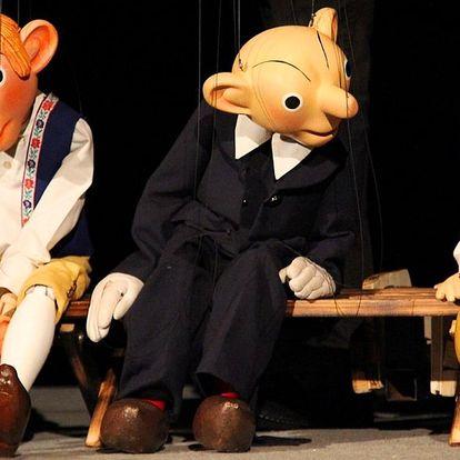 2 vstupenky do Divadlo Spejbla a Hurvínka pro dospělé