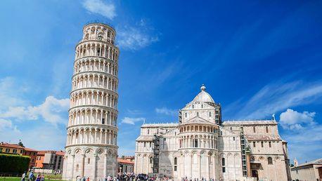 Cinque Terre, Pisa, Lucca a Florencie   2 noci se snídaní   5denní poznávací zájezd do Itálie