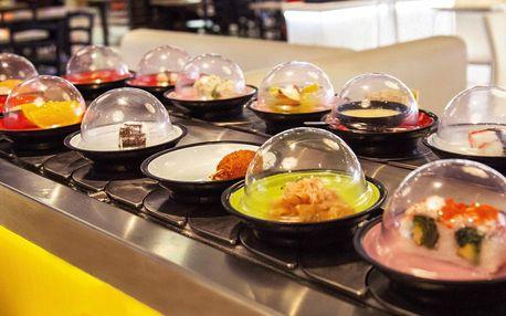 Running sushi: 2hodinová neomezená konzumace