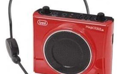 Zesilovač hlasu Trevi K 755 USB RED