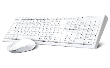 Klávesnice s myší Connect IT CI-1118, CZ/SK bílá (CI-1118)