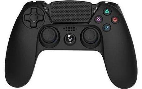 Omega VARR CHARGE pro PS4/PC, Bluetooth černý (OGPPS4)