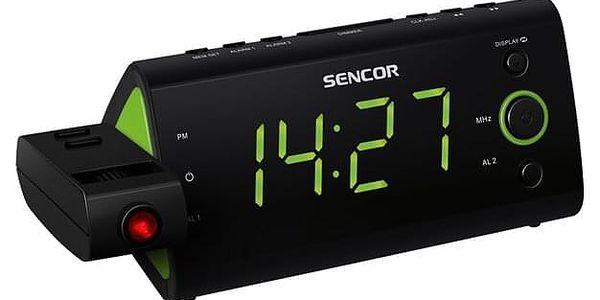Radiobudík Sencor SRC 330 GN černý/zelený