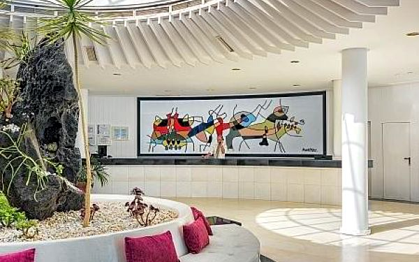 H10 Suites Lanzarote Gardens, Lanzarote, letecky, polopenze4