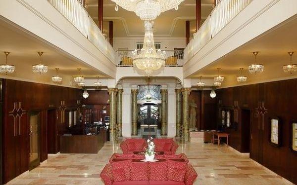 Wellness pobyt v luxusním hotelu v Mariánských Lázních + perličková koupel & polopenze 3 dny / 2 noci, 2 os., polopenze2