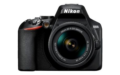 Nikon D3500 + 18-55 AF-P VR černý (VBA550K001)