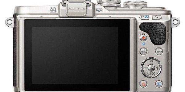 Digitální fotoaparát Olympus PEN E-PL8 + 14-42 EZ Pancake černý2