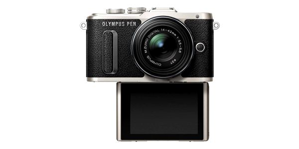 Digitální fotoaparát Olympus PEN E-PL8 + 14-42 EZ Pancake černý3