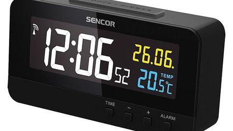 Budík Sencor SDC 4800 B černý