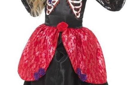 Dívčí šaty Den mrtvých