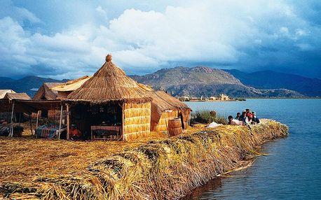 Národní parky Peru, Bolívie a Chile s lehkou turistikou, Lima