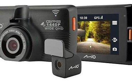 Autokamera Mio MiVue 752 Wi-Fi DUAL černá (5415N5480013)