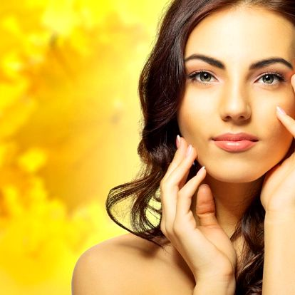 Fotoomlazení obličeje a krku