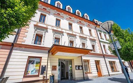 Jeseníky v oceněném Hotelu Slovan **** s polopenzí a až 12 wellness procedurami