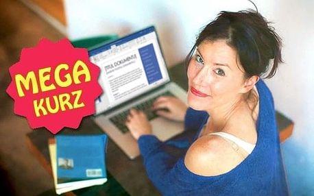 Online MEGA kurz Wordu s neomezeným přístupem