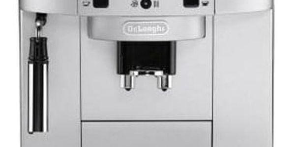 Espresso DeLonghi Magnifica ECAM22.110SB černé/stříbrné + dárky Příslušenství DeLonghi Skleničky espresso + Káva zrnková DeLonghi Kimbo Classic 250g v hodnotě 318 Kč
