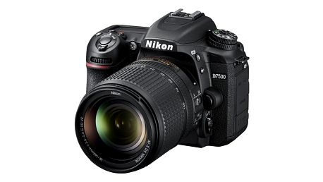 Digitální fotoaparát Nikon D7500 + 18-140 AF-S VR černý + dárek Dárkový poukaz Nikon 1000 Kč + DOPRAVA ZDARMA