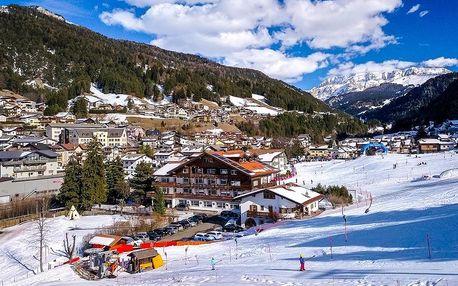 Itálie - Val Gardena na 1 až 8 dní, polopenze, Val Gardena