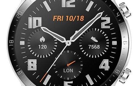 Chytré hodinky Huawei Watch GT 2 hnědé (55024470)