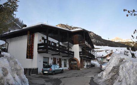 Itálie - Val di Fassa e Carezza na 8 dní, polopenze, Val di Fassa e Carezza