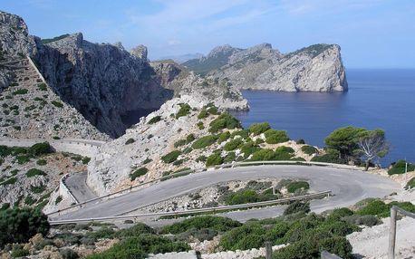 Přírodní krásy a kultura Mallorcy - letecky, Baleárské ostrovy