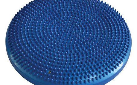 CorbySport 4814 Balanční a masážní polštářek 33 cm - modrý