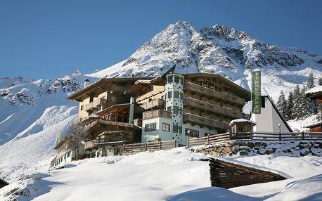 Rakousko - Sölden - Ötztal na 3-6 dnů, polopenze