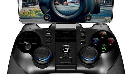 Gamepad iPega 3v1 s USB přímačem, iOS/Android, BT černý (PG-9156)