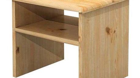 Noční stolek MV001 B/P - BOROVICE PŘÍRODNÍ