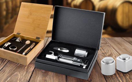Doplňky k vínu: zátky, vývrtky i dárková balení