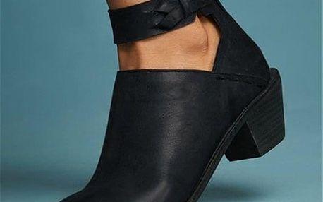 Dámské boty na podpatku Magdalena - dodání do 2 dnů