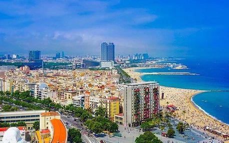 Španělsko - Barcelona letecky na 4 dny, snídaně v ceně