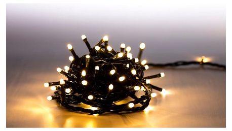 Marimex | Světelný řetěz 100 LED - teplá bílá - zelená | 18000058