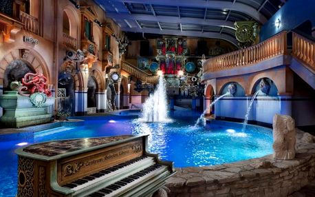Rodinný pobyt v Hotelu Babylon**** s neomezenou zábavou