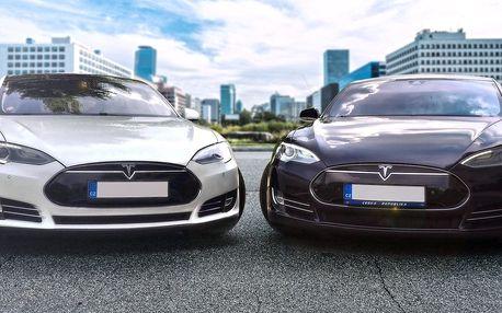 Jízda v elektromobilu Tesla Model S, 3 nebo X