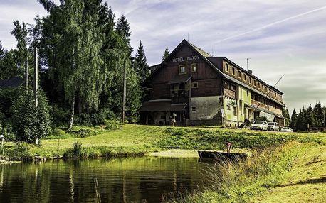 Jizerské hory v hotelu Maxov s polopenzí a saunou