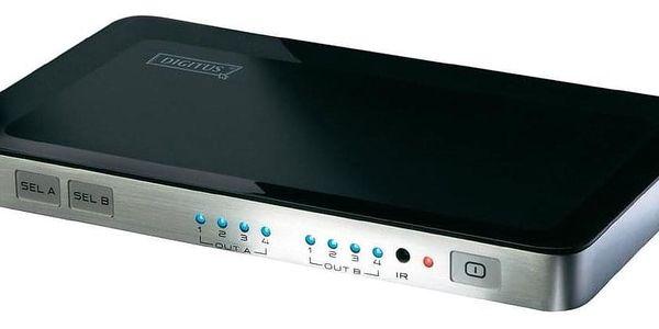 Video splitter Digitus HDMI přepínač 4 -> 2 (DS-48300)2