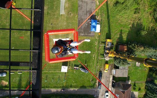 SCAD diving, volný pád z výšky 50 metrů3
