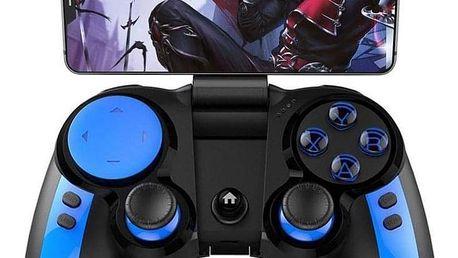 Gamepad iPega Blue Elf, iOS/Android, BT černý/modrý (PG-9090)