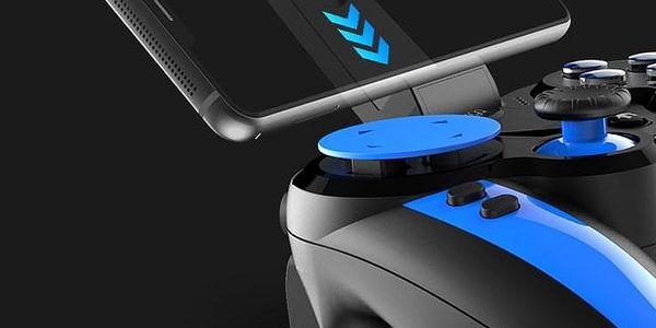 Gamepad iPega Blue Elf, iOS/Android, BT (PG-9090) černý/modrý2