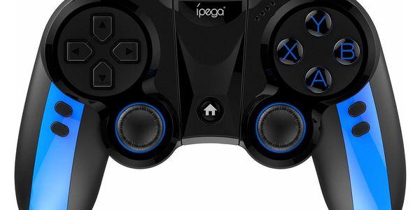 Gamepad iPega Blue Elf, iOS/Android, BT (PG-9090) černý/modrý3