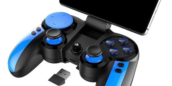 Gamepad iPega Blue Elf, iOS/Android, BT (PG-9090) černý/modrý5