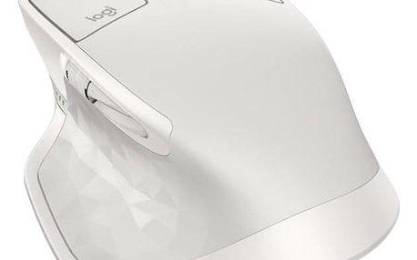 Logitech MX Master 2S - light grey / Darkfield / 7 tlačítek / 4000dpi (910-005141)