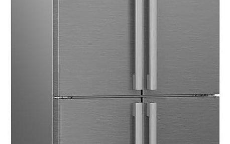 Americká lednice Beko GN 1416231 JX nerez