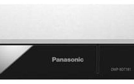 3D Blu-Ray přehrávač Panasonic DMP-BDT181EG stříbrný