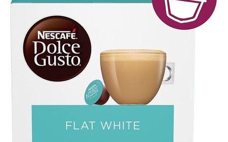 NESCAFÉ Dolce Gusto® Flat White kávové kapsle 16 ks