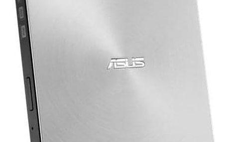 Asus SDRW-08U7M-U slim stříbrná (90DD01X2-M29000)