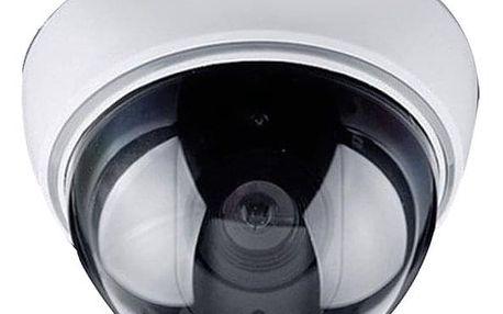 Maketa zabezpečovací kamery Solight 1D41, na strop, LED dioda, 3x AA (1D41)
